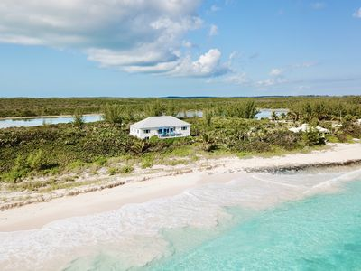 Photo for New Listing!  Private Estate on 2-Mile-Long Pink Sand Beach