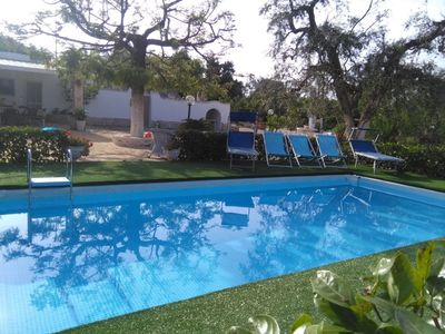 Photo for Beautiful private villa for 6 guests with A/C, WIFI, private pool, patio and parking