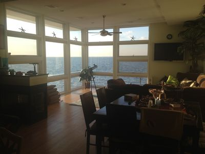 Photo for Sunset Paradise with Sand Beach, Rooftop Hot Tub, Panoramic Views, Boating & FUN