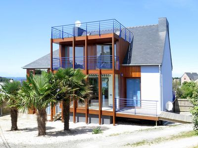 Photo for LARGE VILLA at ABER WRAC'H; classified 4 STARS 14 perso. (, 18 poss)) sea view spa sauna