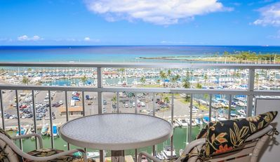 Photo for Aloha Condos, Ilikai Hotel Condos, Condo 1304, Ocean View, AC