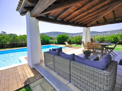 Photo for Villa Capannizza whit private pool, 600 meters from the beach, A/C, free WIFI