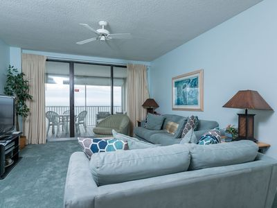 Photo for BEACH FRONT! Three Bedroom @ Pelican Pointe! Gulf Front Balcony! *FREE Nights!*