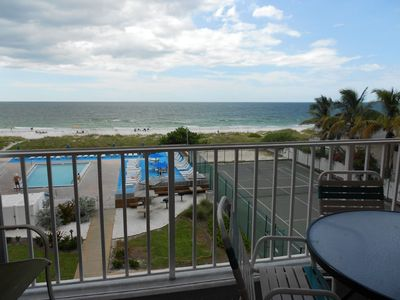 Photo for Perfect Getaway!!! **FREE PERKS INCLUDED**Reef Club #308 Beachfront Condo