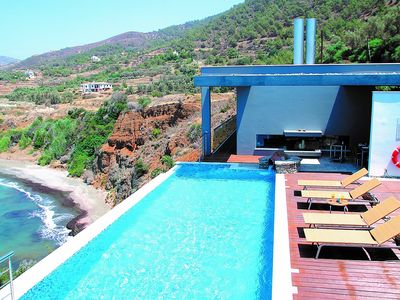 Photo for Villa Paradise - Deluxe and Modern with Private Infinity Pool set in a Quiet, Majestic Position with Spectacular Sea Views! - Free WiFi