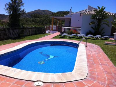 Photo for 25% DISCOUNT WEEK RURAL HOUSE SEA AND MOUNTAIN VIEWS AND PRIVATE POOL
