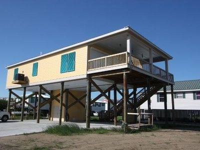 Photo for Thin Blue Line is a 4 br with Beach Access and Gulf View in Grand Isle