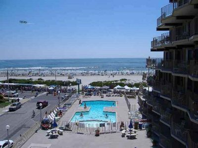 Photo for Seacrest Towers On The Ocean North WIldwood One Bedroom 6th floor
