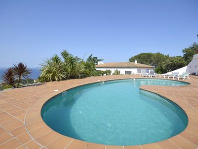 Photo for This villa is one with the best location in the area. Enjoys Spectacular sea views. Ideal