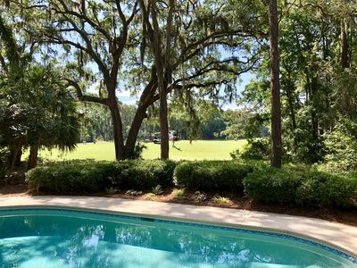 Photo for Harbour Town Home w/GOLF COURSE View,*FIRE PIT*, *POOL*, ALL 1 level!
