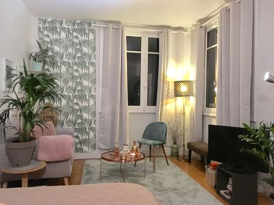 Photo for Large, bright and pleasant studio in Boulogne-Billancourt