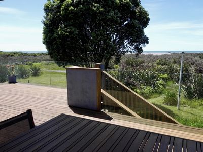 Photo for Sea, mountain and rainforest views - life is good in Okarito!