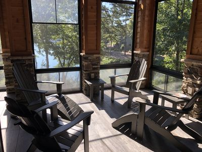 Photo for Luxury Lakefront Home on Lake Keowee - just 12 miles to Clemson!