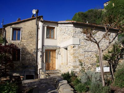 Photo for Casa Nero; Traditional Stone House Outside, Restored Modern 3 Bed-Home Inside
