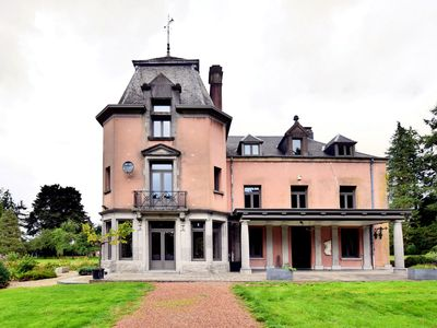 Photo for Magnificent luxury chateau in vast, park-like garden with sauna and Jacuzzi 's