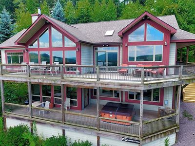 Photo for Rocky Mountain Lodge- Lake Access Home w/ Community Dock Slip