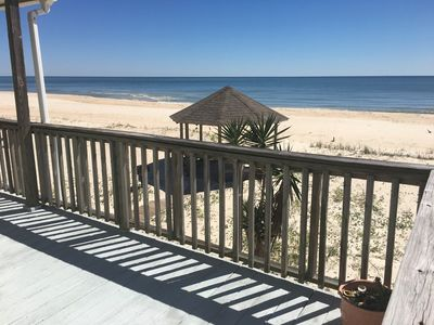 Photo for Beachfront! 2 BR/2 Bath Second Floor Condo, Sleeps 6, pet friendly