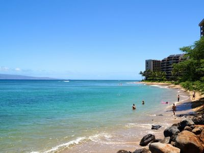 Photo for Great Winter Rates plus Free Activities!   Kahana Villa 1 bed / 1 bath - Walk to 'S' Turns Beach!