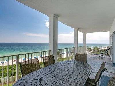 Photo for GRAND PLAYA 302: Beautiful Gulf Front Condo with Large Balcony!!