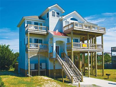 Photo for Private Pool, Hot Tub, Tiki Bar & Game Rm at Lovely Oceanview Dog-Friendly Home!
