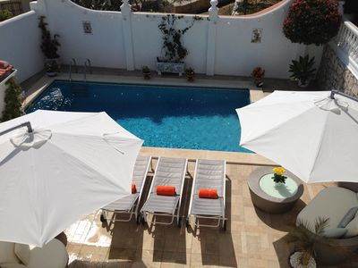 Photo for Private Pool, Free Airport Transfers, Full Breakfast, Private Accommodation