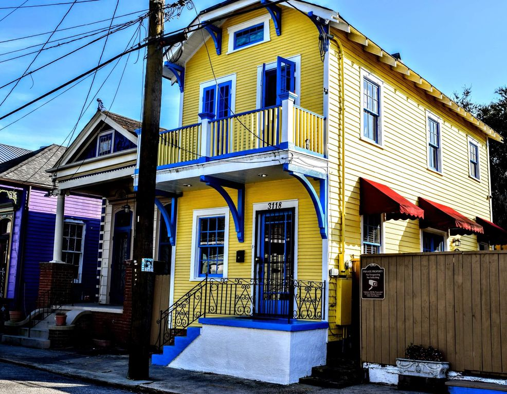Marigny-Bywater Home: 2 Story Cottage with Balcony Sleeps ...