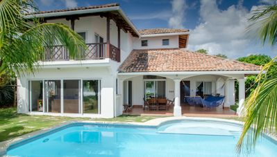 Photo for Beachfront Villa with Infinity Pool at Colorados Surf Break in Hacienda Iguana!