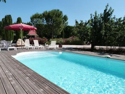 Photo for IN PROVENCE HOUSE OF 130m CLIMATISEE IN FULL FOOT PRIVATE SWIMMING POOL