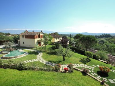 Photo for Lush Farmhouse in Bucine with Swimming Pool