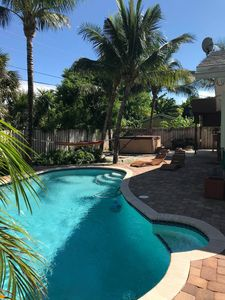 Photo for PRIVATE Pool, HOT Tub, close to BEACH and downtown