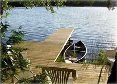Photo for Secluded Cottage on Bass Lake in Beautiful Leelanau County