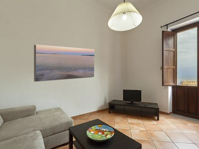 Photo for Beautiful sea view apartment just minutes from the city center