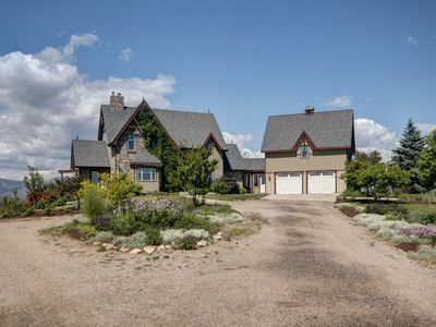 Photo for Mile Hi Manor - Luxury Home on 100+ acres