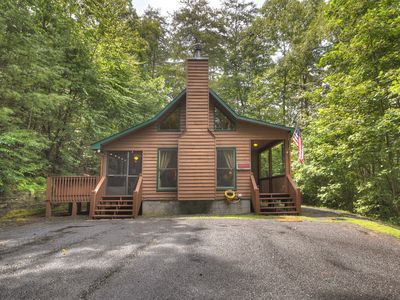 Photo for *Free Whitewater Rafting & Ziplining* Secluded, Close to Downtown Blue Ridge, Perfect Couple Retreat