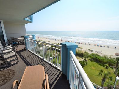 Photo for Huge 5 Bedroom Oceanfront Condo, Huge Balcony, Amazing Views, 3 Pools, Jacuzzi!