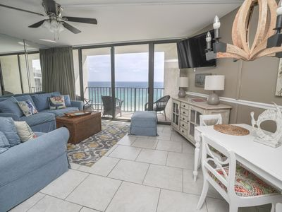 Photo for BEACHFRONT - 2 HUGE BALCONIES* POOLS, HOT TUB, FREE ACTIVITIES! FUN IN THE SUN!