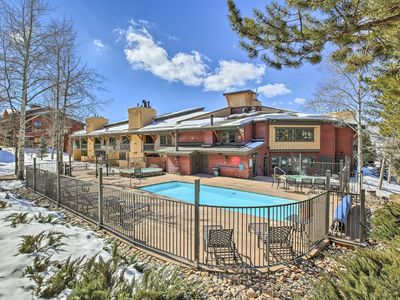 Photo for Steamboat Springs Condo w/Comm Pool-Walk to Slopes