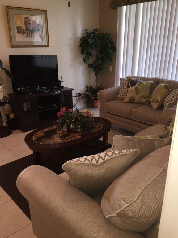 Ground floor unit with 3 Bedroom/2 bath closest to club house
