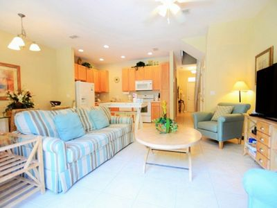 Photo for 4br/3ba townhome with hot tub,Near Disney,Seaworld,Convention Center