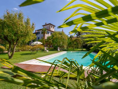 Photo for WELCOMING APARTMENTS IN VILLA WITH GARDEN-PARK AND POOL