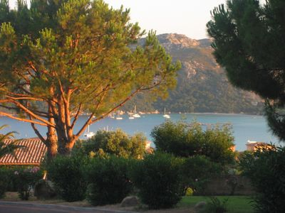 Photo for Apartment any comfort with superb sight on sea, mountain and maquis Corsica.