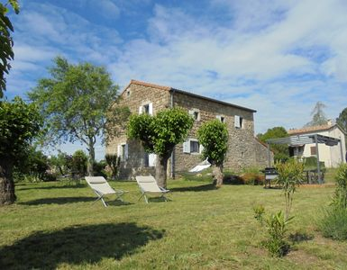 Photo for 4BR House Vacation Rental in Payzac, Auvergne-Rhône-Alpes