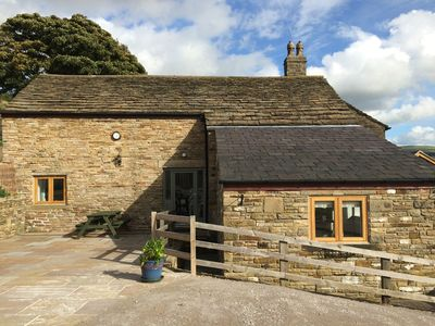 Photo for High Peak beautiful converted barn with private garden and spectacular views