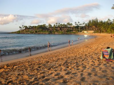 Photo for Napili Bay Beach*Beautiful Ocean View! Steps to the Beach*Wifi*Great Location!
