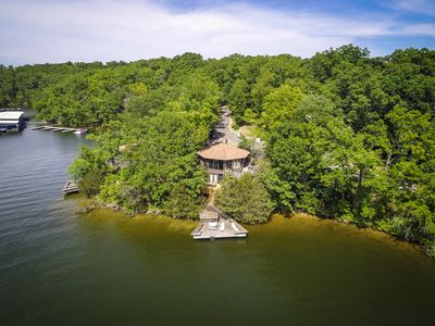 Photo for Glass Octagon /Waterfront Villa /Lake of Ozark