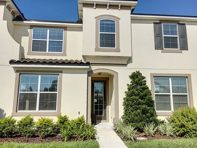 Photo for LAKE PALM - PEt-Friendly Townhome near Disney in Solara Resort