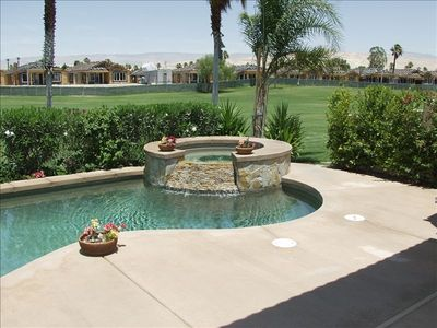 Photo for Palm Springs-Large Pool Home @ Desert Princess Cc Golf Course