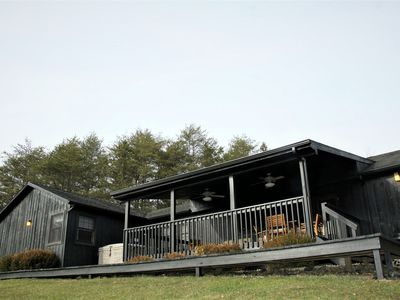 Photo for Spacious 5BR Hocking Hills Lodge with an amazing view
