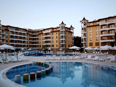 Photo for Royal Sun N33 - Family, 1 bedroom apartment with balcony and pool view