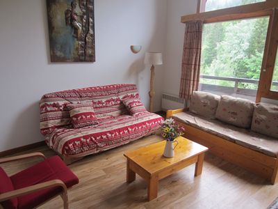 Photo for Large sleep 8 apartment in La Tania Courchevel The 3 Valleys (Ski in Ski Out